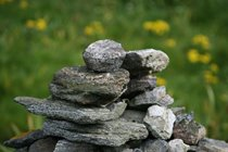 Dry stone wall, Bosta, Bernera