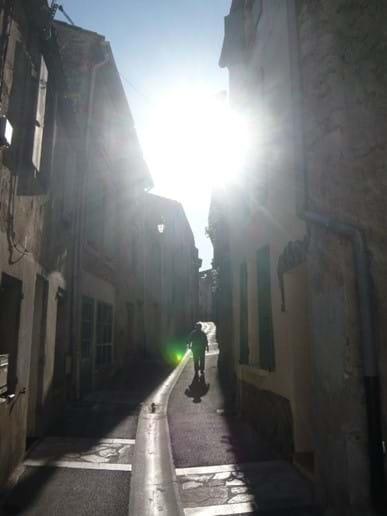 Fitou village street