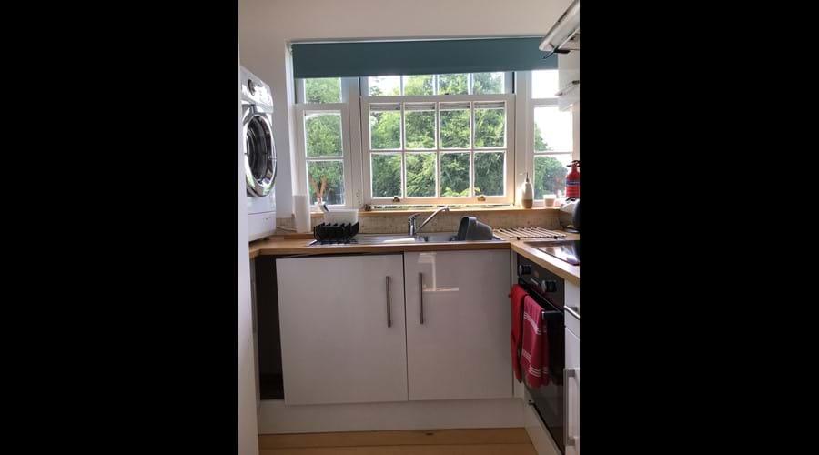 The Hayloft kitchenette