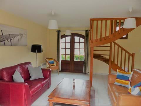 Living area with patio doors to garden