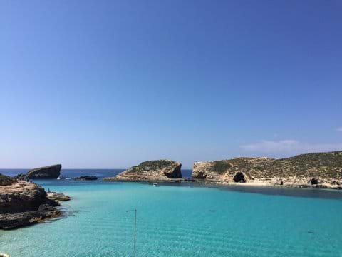 Take a boat to Comino island