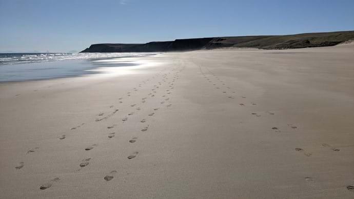 Tràigh Mhòr Footprints