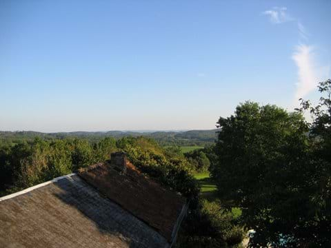 gite near sarlat with pool and views