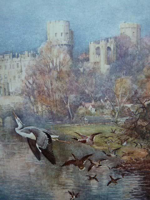 Warwick Castle (from a watercolour)