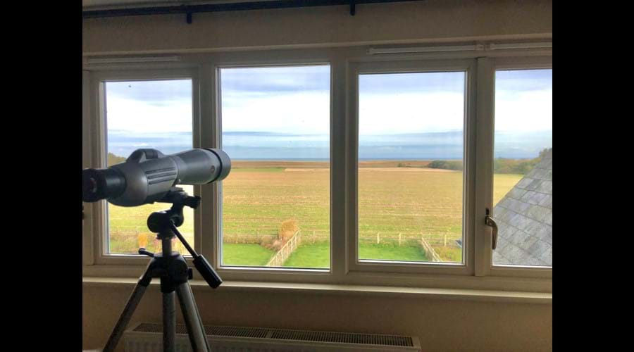 Amazing sea views to the rear of the property