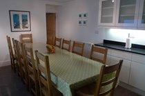Oak table seating 12