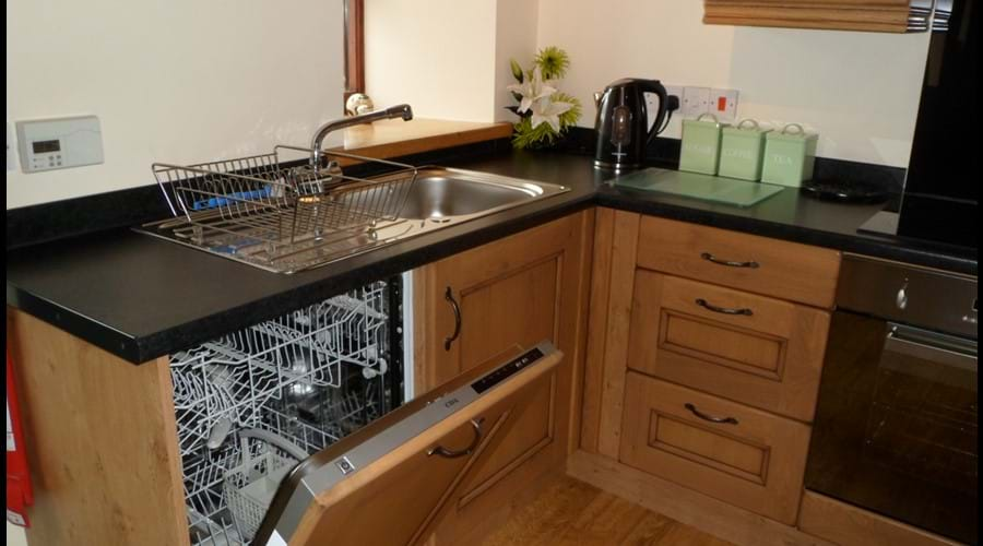 Kitchen dishwasher