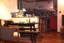 Open plan living-dining-kitchen