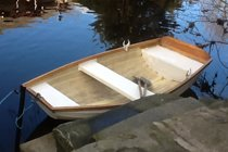 Rowing boat - bring your wellies!