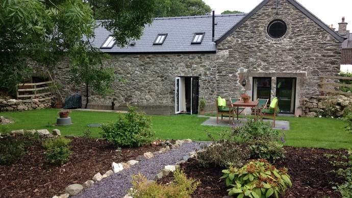 Private, south facing garden