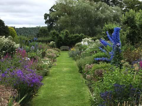 Hergest Croft Gardens in summer