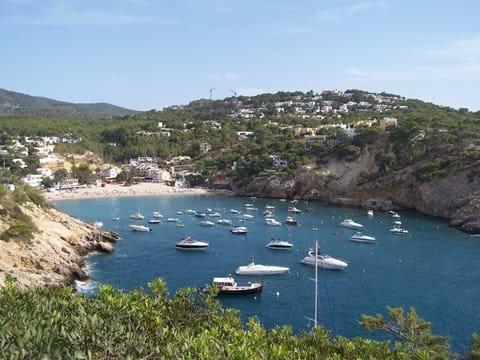 Cala Vadella beach - family favourite