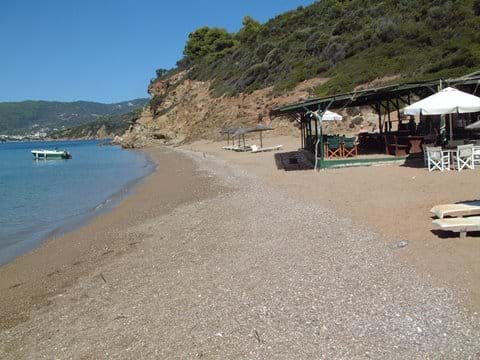 By boat to lunch on the tiny island of Arkos
