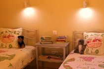 Eco-Gites of Lenault - a welcoming gite that sleeps 5 in the Calvados region of Normandy. Very baby and toddler friendly