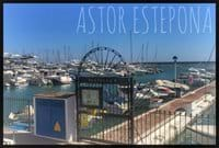 The Astor Estepona is right on the Marina which has loads of bars, restaurants and obviously boats!