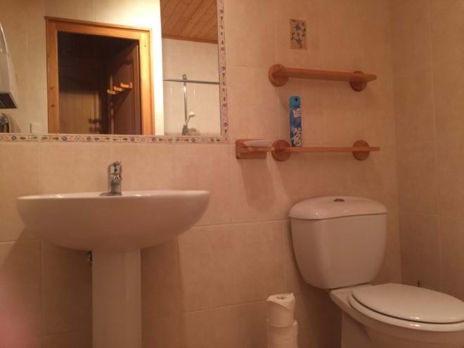 Shower room ground level