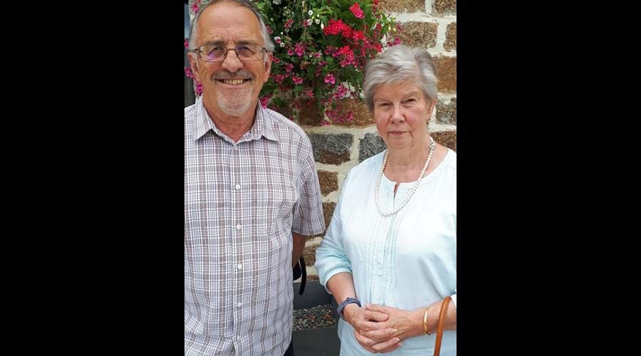 Nigel and Paula - Your Hosts at Le Haut Fresnay