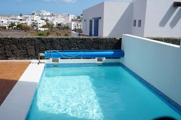 Private Heated Pool with Roman Steps