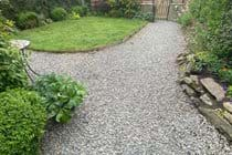 Trysor Holiday Cottage enclosed garden