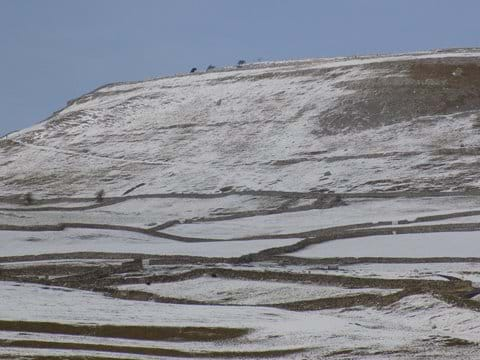 A Wintry Scene at Ingleton.