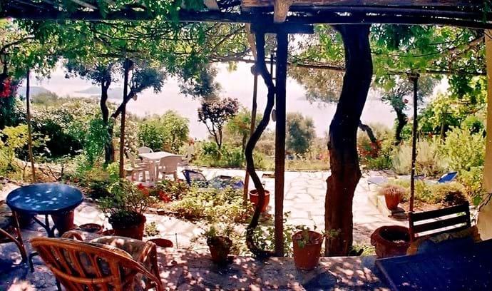Orchard Villa patio - terraces