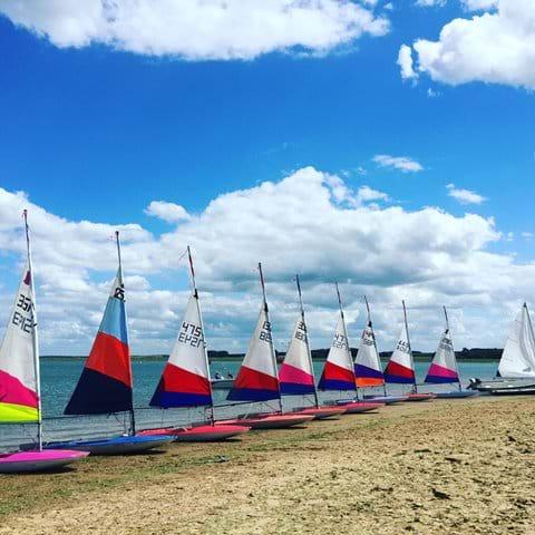 Sailing Brancastr Beach