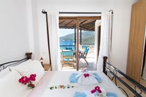 Master bedroom With Balcony and Sea Views