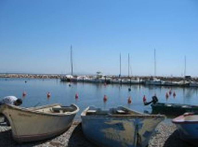 Port Tabarka near the Marseillan accommodation