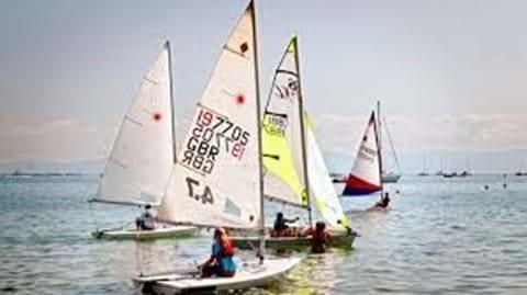 Sailing Abersoch