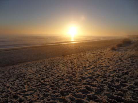Sunrise on Long Beach
