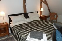 The huge, superking bed