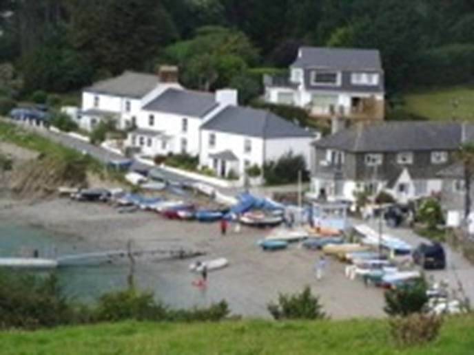 Helford Passage from the coastal path