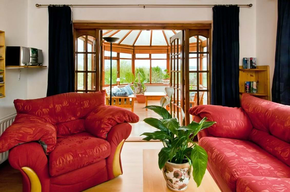 Living Room and view into conservatory