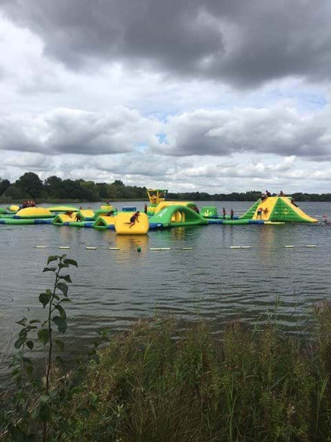 Aqua Adventure at Cotswold Park and Beach