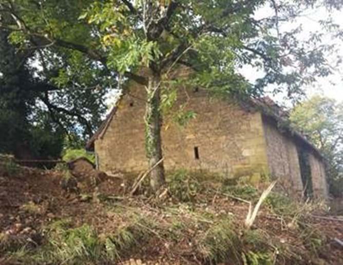 Walnut Barn - end decking area
