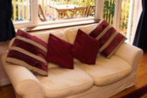 Comfy sofas in the lounge