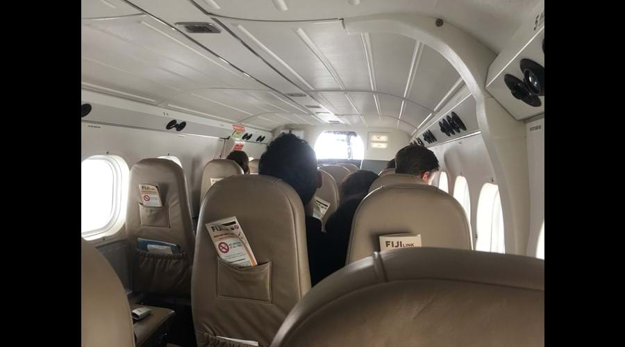 Modern & comfortable 12 seater domestic flight, to and from Savusavu.