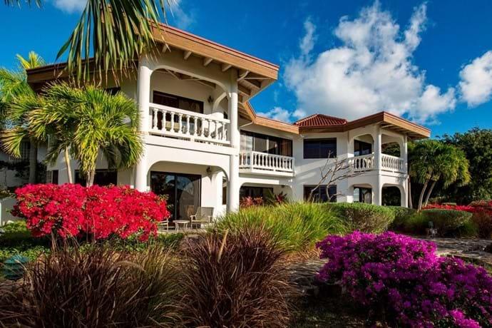 Tamar villa is built on 2 levels,