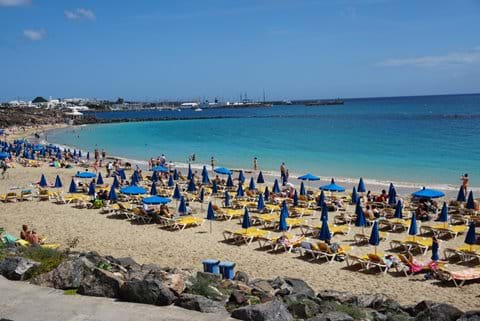 Dorada Beach with lots of activities
