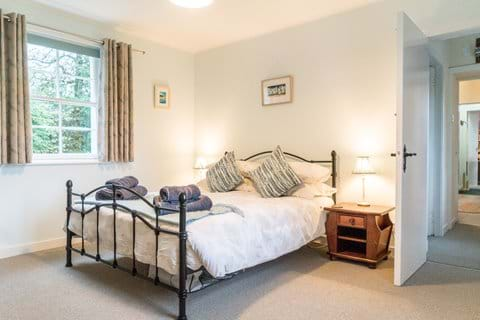 The King room has two large windows and stunning views