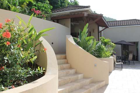 Well established gardens