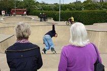 Minet Skate Park visit