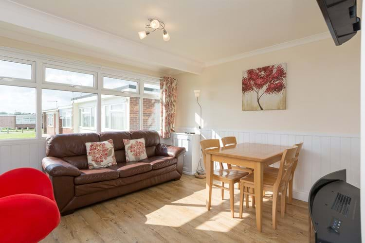 Spacious open plan sitting/dining area