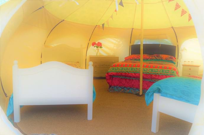 Our Spacious Luxury Belle Tents