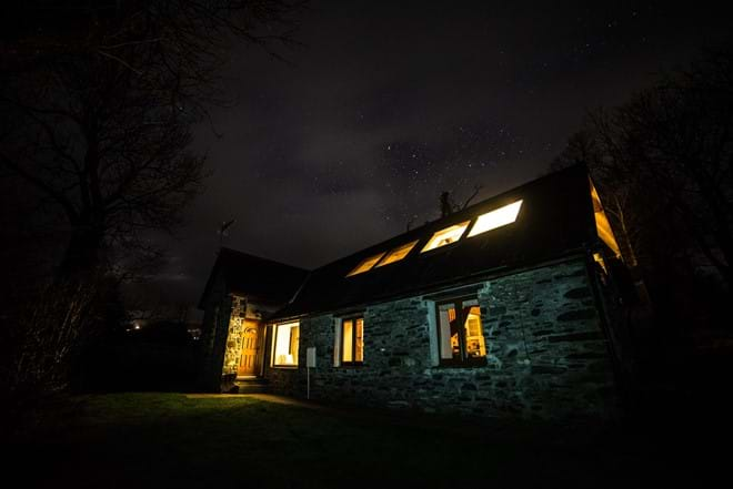 Starry Nights. Thanks to Dafydd Wyn Morgan for this photo