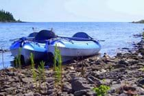 There are two kayaks for guests to use while staying at the cottage.
