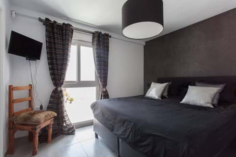 "Bedroom 2 ""black room"" at first floor"