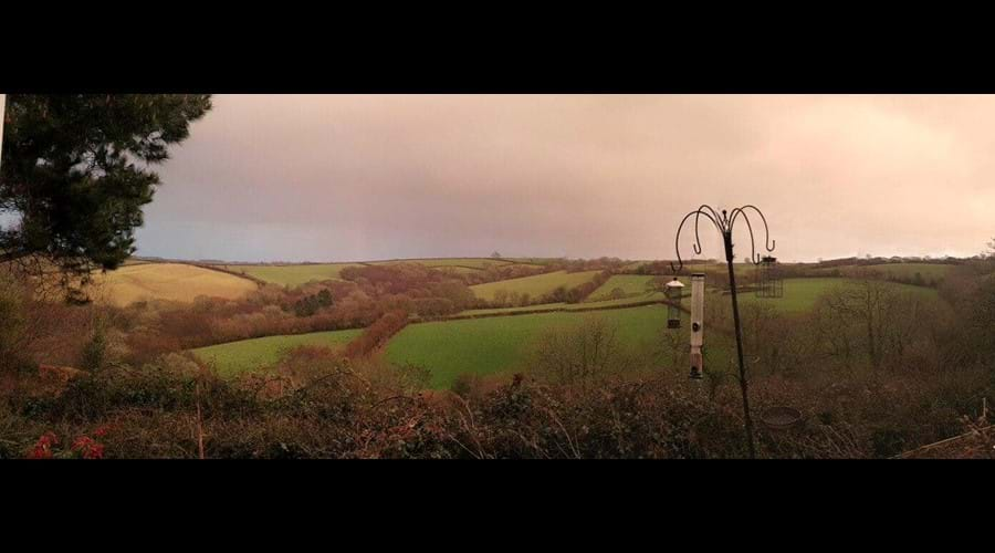 Some amazing skies over the rolling countryside