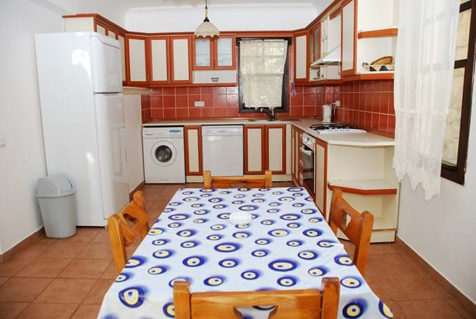 Villa Kalkan kitchen