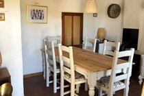 Dining room in the house